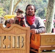 Organ Grinder and Monkey